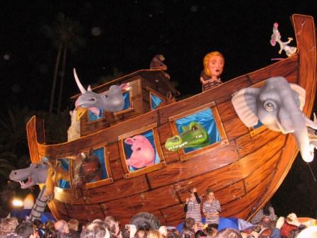 Noah's ark at Nice carnival